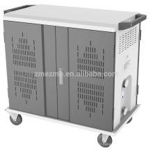 zmezme nouveau design top qualité ordinateur portable ipad de stockage et de charge panier