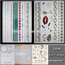 OEM Wholesale strip tattoo with leopard tattoo popular brands temporary tattoo Sticker for adults QY099