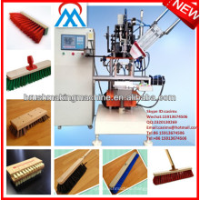 CNC automatic wooden broom making machine