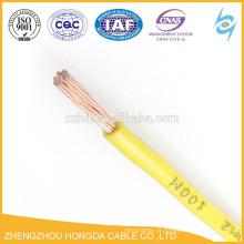 Fio isolado em PVC 14 12 10 8 6 4 1 fio awg