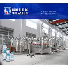 Petite machine de remplissage d'eau minérale en bouteille de Zhangjiagang fiable