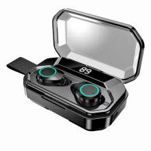 Auriculares deportivos estéreo con auriculares inalámbricos 5.0 TWS