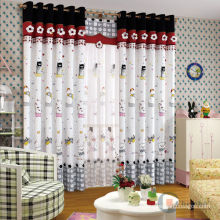 China high quality cartoon curtain for kids room