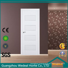 White Lacquer Modern Solid Wooden Door for Hotel Project
