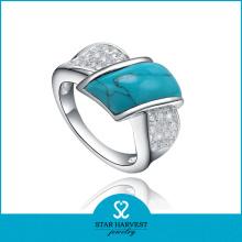 Feine Qualität Sterling Silber Türkis Ringe