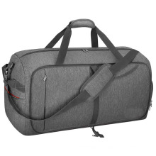 Waterproof Travel Bag Collapsible Weekend Bag with Shoe Compartment