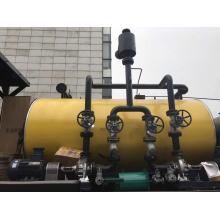 Caldeira de óleo quente 4200KW disparada óleo