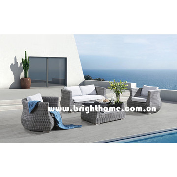 Hot Sale PE Rattan Wicker Mobiliário Outdoor Bp-897