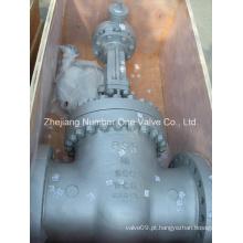 Válvula de porta de alta pressão de tamanho grande de ANSI & CE (Z40Y-18 '')