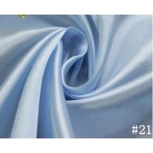 Färgade mjuka bekväma Satin tyg för klänning