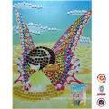 2014 new design A4 size DIY mosaic art toy kit for kids