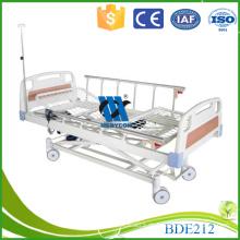 BDE212 Elektrische Krankenhaus Betten mit Matratze Basis, PP / ABS Kopf und Fuß Board