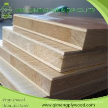 Melaminpapier Gesicht Block Board Sperrholz für Möbel