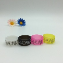 Transparent Printed Silicone Finger Bands