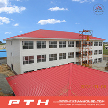 Almacén de estructura de acero de bajo coste diseñado industrial profesional prefabricado