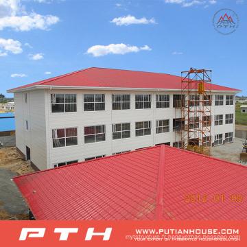 Entrepôt préfabriqué économique adapté aux besoins du client de structure métallique avec l'installation facile