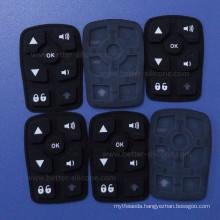 Custom Made Elastomer Plastic Silicone Rubber Laser Etched Keypad