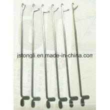 Agulhas de 8 gauge para a máquina de confecção de malhas plana da mão