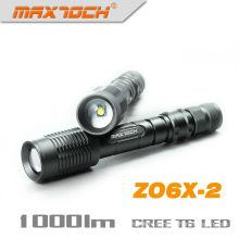 Maxtoch ZO6X-2 T6 18650 Power Cree Zoom Flashlight
