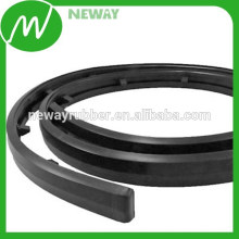 Black Color Customized Rubber Material Bumper Strip