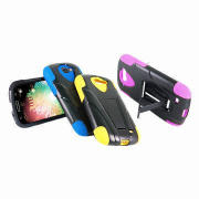 Mobile Phone Case for Samsung I47, PC with flexible Kickstand + Silicone with Case