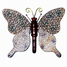 Antique Garden Wall Art Metal Butterfly Decoration-46cm