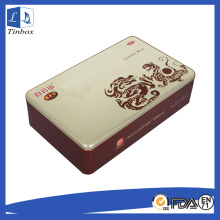 Rectangular Tin Box With Lids Wholesale