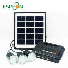 Articles promotionnels de cadeau d'Espeon outre du système d'éclairage solaire de grille pour la maison