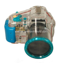 Plastic injection mold for camera diving lid