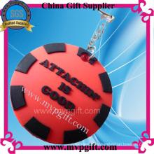 Llavero plástico para regalo de promoción, llavero de plástico (E-MK46)