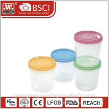 High quality plastic storage canister
