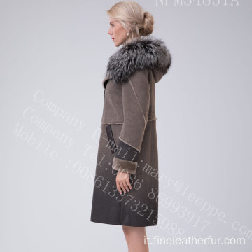 Cappotto in pelliccia reversibile in Winter Lady