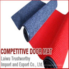 Impermeável Anti-Slip Porta Mat Carpe com PVC Backing