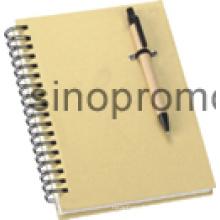 Ordinateur portable avec stylo bille cadeau portable (MN9046)