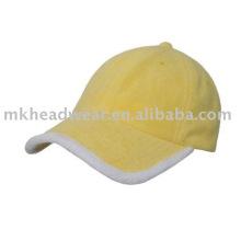 Махровая ткань спортивная кепка