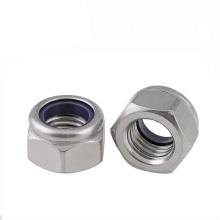 Hex nylon lock nuts