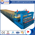 PLC styrsystem Glazed Roof Roll Forming Machine