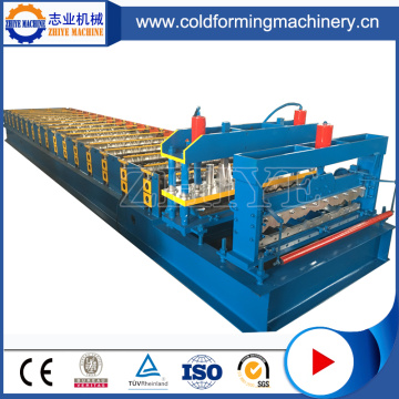 Zhiye CNC PPGI Glazed Tile Sheet Making Machine
