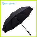 Hot vente promotionnel personnalisés Logo imprimé Polyester parapluie