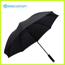Caliente venta promocional logotipo personalizado impreso paraguas poliester