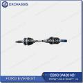 Eje de eje delantero original Everest EB3G 3A428 AB