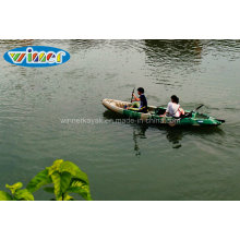 Siéntese en la pesca de plástico superior Kayak grande de la familia