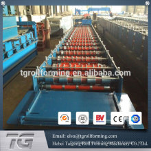 Botou supplier automatic steel roll roof forming machine