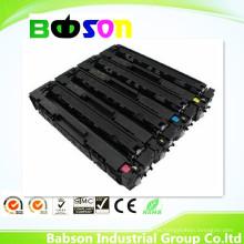 Cartucho de tóner de color compatible con alta capacidad para HP CF400X, CF401X, CF402X, CF403X, 201