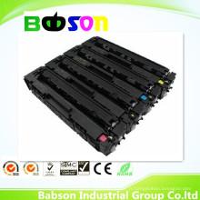 Cartouche de toner de couleur compatible de capacité élevée pour HP CF400X, CF401X, CF402X, CF403X, 201