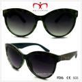 Plastic Cat′s Eye Unisex Sunglasses (WSP508302)