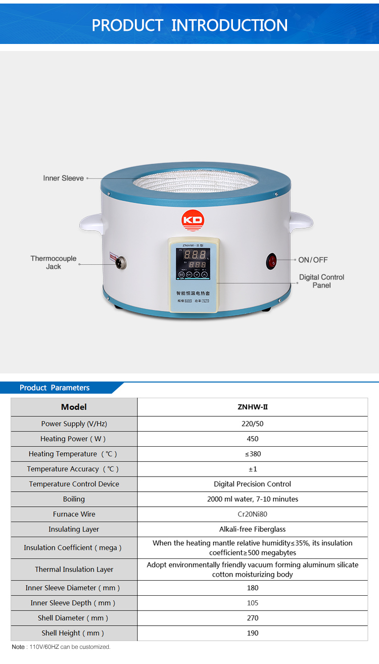 Intelligent Electric Magnetic Stirring Heating mantle Price