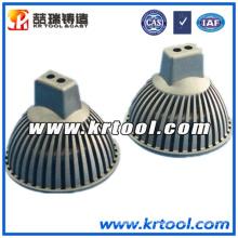 Zamac de haute qualité moulage sous pression pour les pièces d'éclairage LED