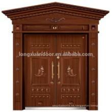 Puertas de doble entrada de hierro forjado / puerta interior / puertas decorativas