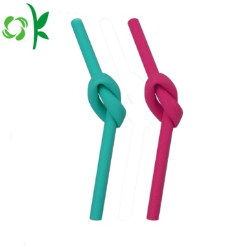 FDA Silicone Streight Straw Soft Straw för barn